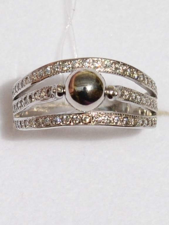 Шарик (кольцо из серебра)