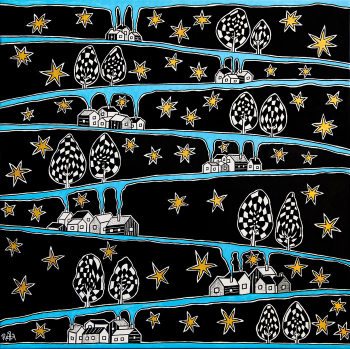 Starry Night In All Seven Heavens