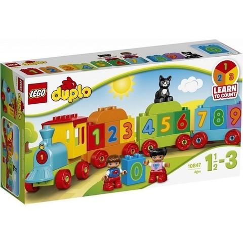 LEGO Duplo: Поезд считай и играй 10847