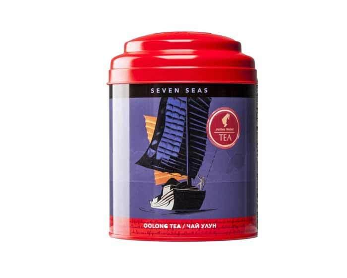 Чай улун сильной ферментации листовой Да Хун Пао Julius Meinl Семь морей