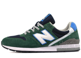 Кроссовки Мужские New Balance 996 Suede Green White Blue
