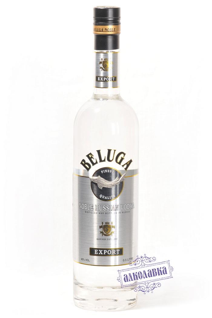 Русская водка Белуга 0,5 40%
