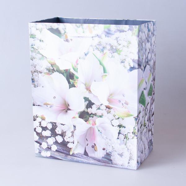 Пакет подарочный бумажный 18*23*10см, 640302-8
