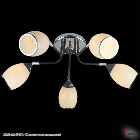 39033-0.3-05 BK+CR светильник потолочный
