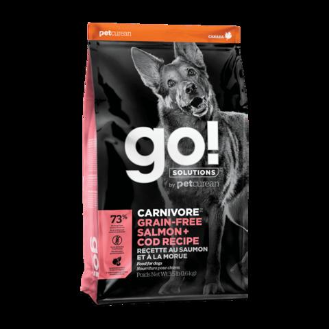Go! Carnivore Сухой корм для собак с лососем и треской (беззерновой)