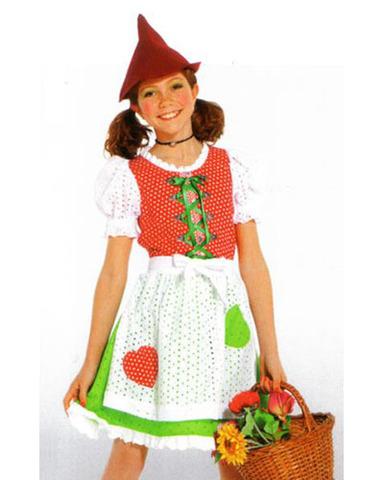 Выкройка Burda (Бурда) 2392 — Сестра Робин Гуда, альпийская крестьянка