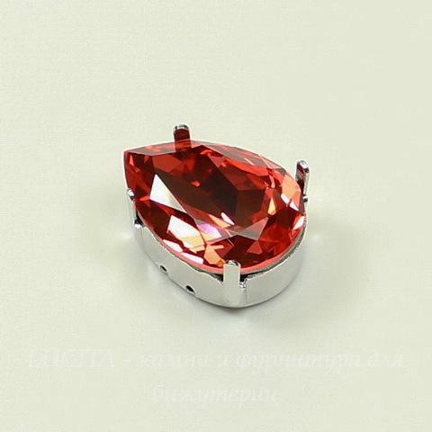 4320/S Сеттинг - основа для страза Капля 18х13 мм (цвет - античное серебро)