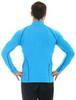 Мужская толстовка для бега Brubeck Windproof Zip Top (LS11060) голубая фото
