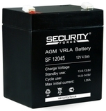 Аккумулятор Security Force SF 12045 ( 12V 4,5Ah / 12В 4,5Ач ) - фотография