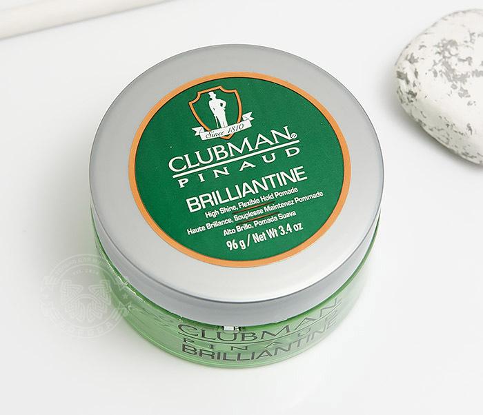 RAZ28001 Гель-бриллиантин для укладки волос Clubman Brilliantine (100 мл) фото 02