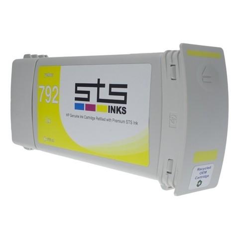 Совместимый картридж для HP 792 CN708A, желтый (775 мл)