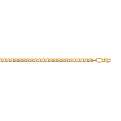 581070502 - Цепь из золота плетение бисмарк ручной