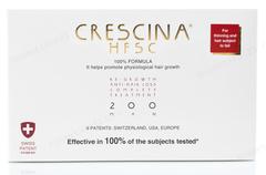 Комплекс - Лосьон для стимуляции роста волос для мужчин №10 + Лосьон против выпадения волос №10, 200  (Labo | Crescina Re-Growth HFSC 100% + Crescina Anti-Hair Loss HSSC 200), 10 х 3,5 мл + 10 х 3,5 мл
