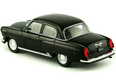 GAZ-21R Volga third series 1962 black 1:43 DeAgostini Auto Legends USSR #73