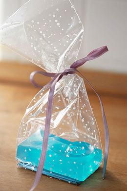 Пакет для мыла с жестким картонным дном