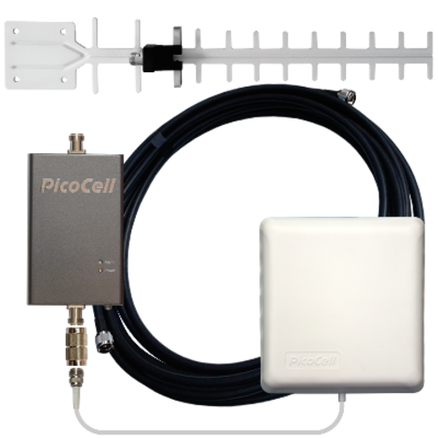 Комплект PicoCell 2000 SXB 02 ( 3G Репитер с комплектом антенн)