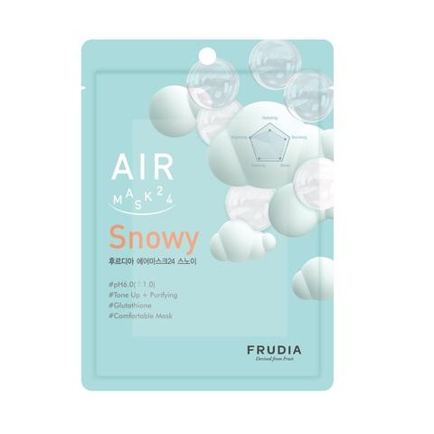 Обновляющая кремовая маска для лица  FRUDIA AIR MASK 24 SNOWY (1шт)