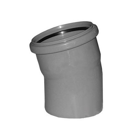 Отвод 15° СИНИКОН - 110 (для системы внутренней канализации)
