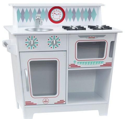 KidKraft Классик белая - детская кухня 53384_KE