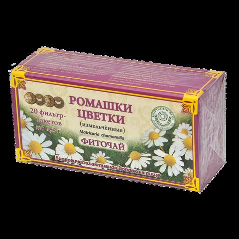 Бородинское фиточай Ромашки цветки в фильтрпакетах 30 г