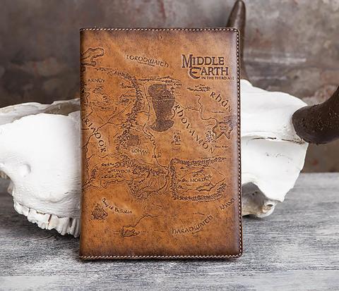 Ежедневник с кожаной обложкой по мотивам Властелина Колец (А5)