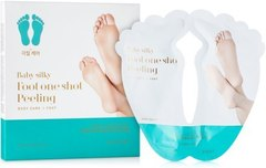 Holika Holika Baby Silky Foot One Shot Peeling - Пилинг для ног жидкий, 20 мл*2