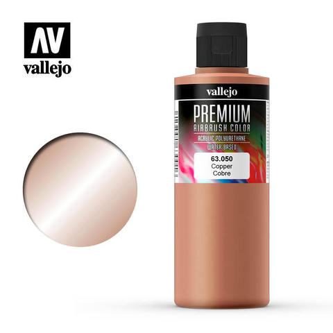 Premium Airbrush Copper 200 ml.