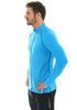 Мужская беговая толстовка Brubeck Windproof Zip Top (LS11060) голубая фото