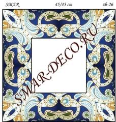 Эскиз для росписи, Зеркало 45/45см, SMAR-zb-26