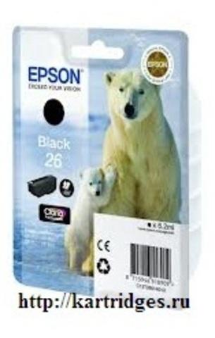 Картридж Epson C13T26014010