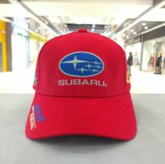 Кепка Субару красная (Бейсболка SUBARU)
