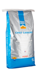 EQUILIBRE chat Canard для взрослых кошек с мясом утки (Суперпремиум) 32/12 15 кг