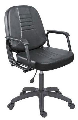 Парикмахерское кресло БРИЗ пневматика черная