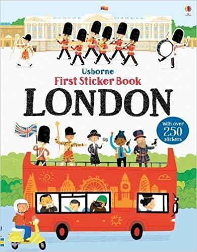 Kitab First Sticker Book London   James Maclaine