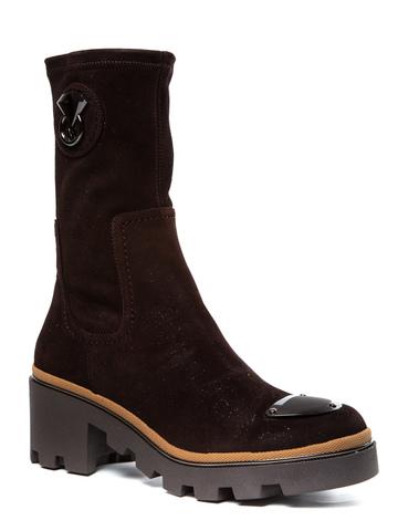 Замшевые ботинки Mara 190 со стрейчем на меху