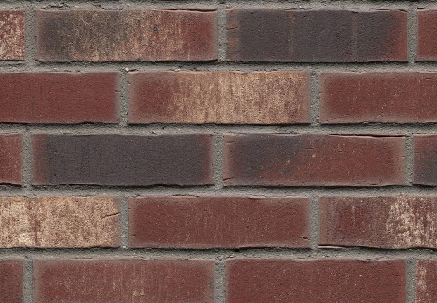 Плитка под кирпич Feldhaus Klinker, VASCU, R746NF14, поверхность Wasserstrich, cerasi rotado