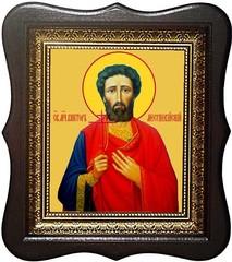 Виктор Месукевийский, Грузинский, Мученик. Икона на холсте.
