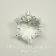 6748 Подвеска Сваровски Эдельвейс Crystal (18 мм)