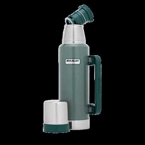 Термос Stanley Classic Vac Bottle Hertiage, 1.3л, зеленый