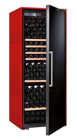 Винный шкаф EuroCave V Collection L красный сатин, сплошная дверь, стандартная комплектация