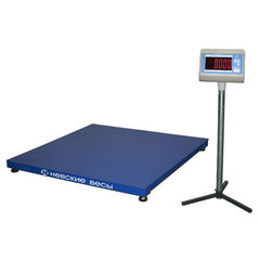 Весы платформенные ВСП4-600.2 А9 750*750