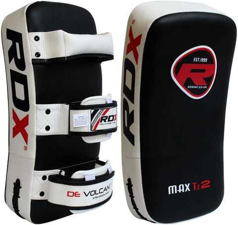 Пэды RDX Thai Strike Pads for KickBoxing with Curve (1 шт)