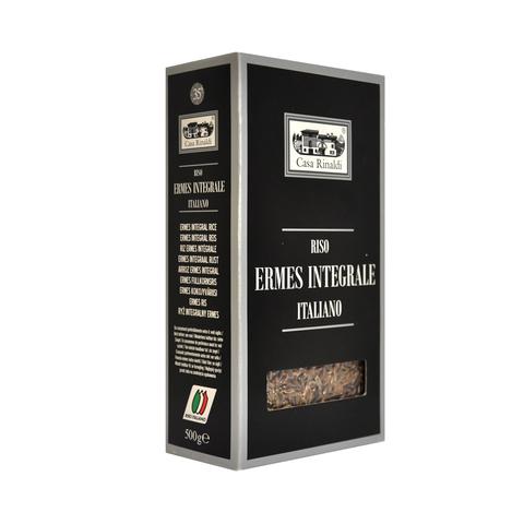 Рис Casa Rinaldi длиннозерный полуобрушенный не пропаренный Эрмес 500г