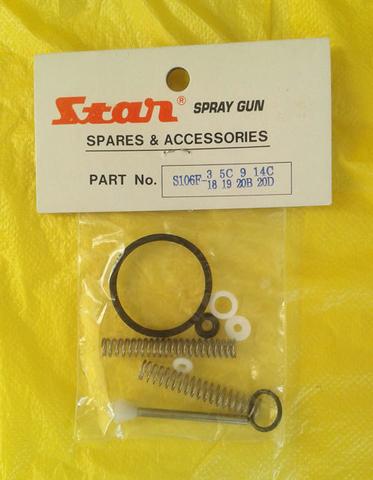 Ремонтный комплект для краскопульта STAR SMP 106 FG