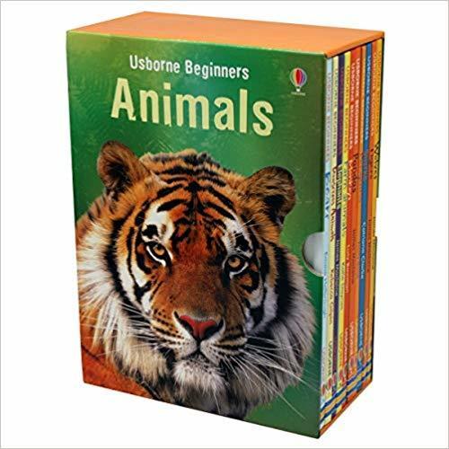 Kitab Usborne Beginners Animals Box Set   Usborne Publishing Ltd
