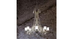 Italamp 745 8 Satin BP Sw_Elements Metal+Transp. — Потолочный подвесной светильник