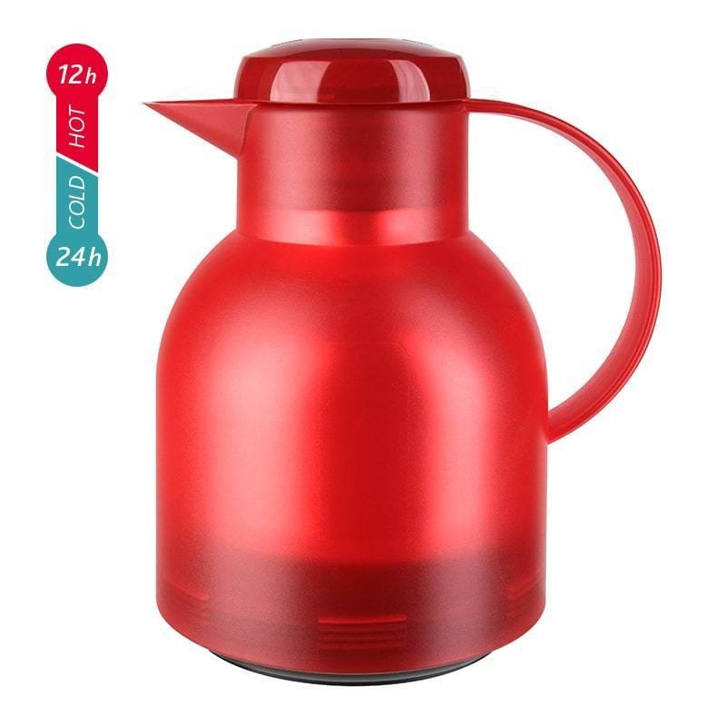 Термос-чайник Emsa Samba (1 литр), красный*