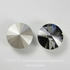 1122 Rivoli Ювелирные стразы Сваровски Crystal Silver Night (SS47) 10,54-10,9 мм (2)