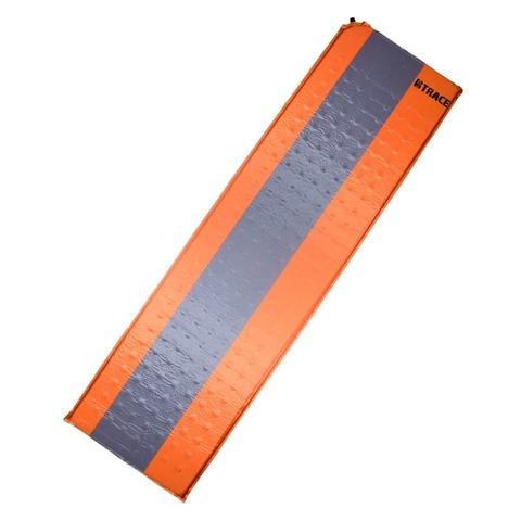 Коврик самонадувающийся BTrace Basic 2,5 , 180х50х2,5 (M0201) (оранжевый/серый)