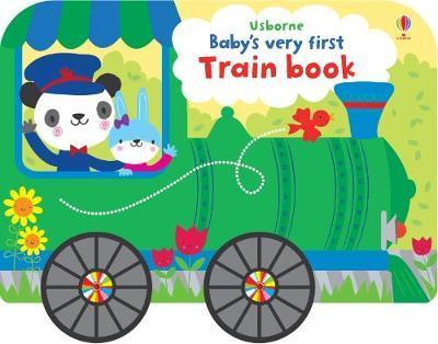Kitab Baby's Very First Train Book | Fiona Watt